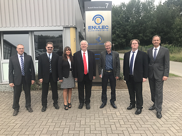The team of the ENULEC company